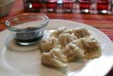 homemade pork dumplings