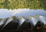 Canoes at Texas State Parks