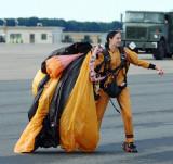 U.S. Army parachute team