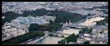 Panorámica desde la torre Eiffel
