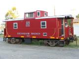 BB caboose #223 in Orange, VA