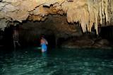 Exploration of Underground River, Yucatan