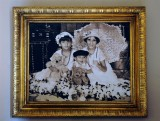 Portrait of Kids at Hacienda, Yucatan