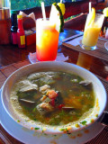Super Soup, La Avion Restaurant, Quepos
