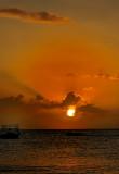 bajan sunset
