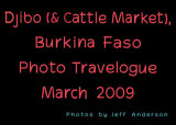 Djibo (& Cattle Market), Burkina Faso (March, 2009)