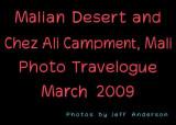 Malian Desert and Chez Ali Campment, Mali (March 2009)