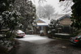 Snow in the Dandenongs 2008