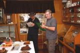 'Judges Peter & Arthur' Ivy Hinge Memorial Fruit Cake Competition Easter Fair 08 8848