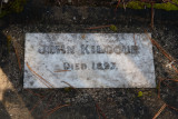 John Kilgour Grave. May 08 9248