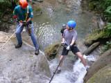 Straddling Water Fall