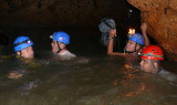 Group Cave Swimming