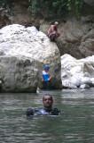 David, Gaby & Jose Gilbert at River