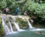 Transmorgifying Leap Off Water Fall