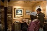 Indoor art - Hope, Alaska