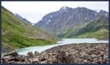 Eagle Lake, Cantata Peak ahead