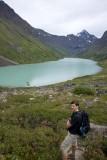 Eagle Lake , Eagle Peak ahead