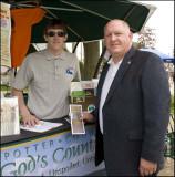 Congressman Glen Thompson and Dave Brooks of local TPA