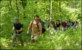 Hikers near Golden Eagle Trail, Lycoming Co.