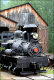 Shay Locomotive- at Pa. Lumber Museum, US Rt 6