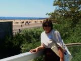 Donna at Coney Island