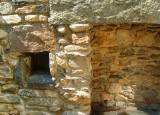Irish cottage reconstruction at the Irish Hunger Memorial