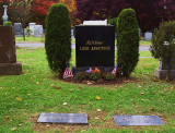 Louis Armstrong, 1900-1971, Permanent resident of Flushing Cemetery in Queens