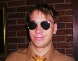 Bob in shades
