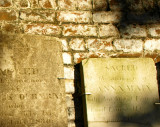Colonial Cemetery wall