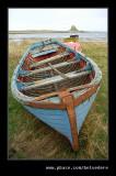 Boat & Lindisfarne Castle, Holy Island, Northumberland
