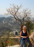 Spring at the Great Wall - My friend Anne