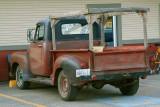 Old Chevrolet work truck