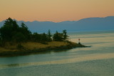 Strait of Georgia sunset