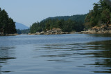 Small islands off the shores of Ladysmith