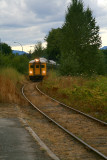 Via Rail pulling into Ladysmith