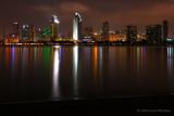 Night Falls on San Diego