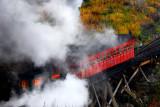 Cog Railway up Mount Washington
