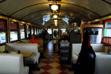 Have a Meal Inside a Train Car