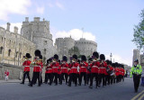 On Parade at Windsor Castle