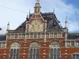 Amsterdam's central railway station