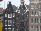 It's snowing in Amsterdam