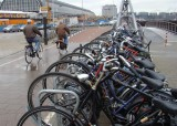 A city in which bicycles are a major form of transportation