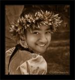 Keiki Hula Smile (Sepia)