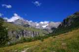 Savoie mountains, France