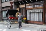 Richshaw in Takayama old district