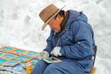 A painter in Otaru