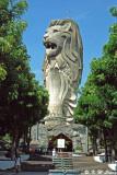 Merlion at Sentosa