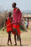 Visiting a Maasai Village