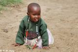 A Maasai little girl