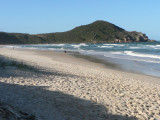 Praia do Rosa beach will be packed in the summer